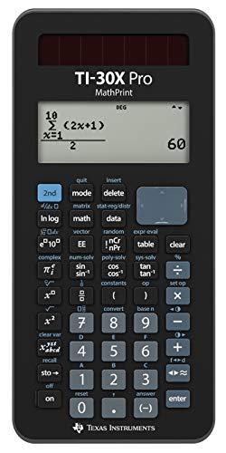 Texas Instruments TI-30X Pro MathPrint Wissenschaftlicher Schulrechner (4-zeilig)