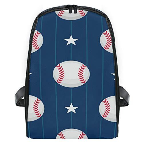 Schulranzen Baseball und Sterne Rucksack Kinder Büchertasche für Grundschüler