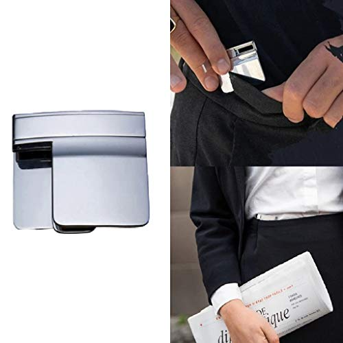 New Pants/Skirt Tight Waist Belt Clip - Adjustment Cordless Belts Clip Waist Fit Cinch Clip Folding ...