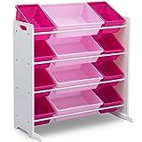 Delta Children Kids Toy Storage Organizer with 12 Plastic...