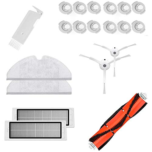 TOOGOO Kits de Accesorios para S50 S51 Aspiradora Pieza de Repuesto Filtro Hepa Cepillo Principal, pa?O de Fregona, Cepillo Lateral
