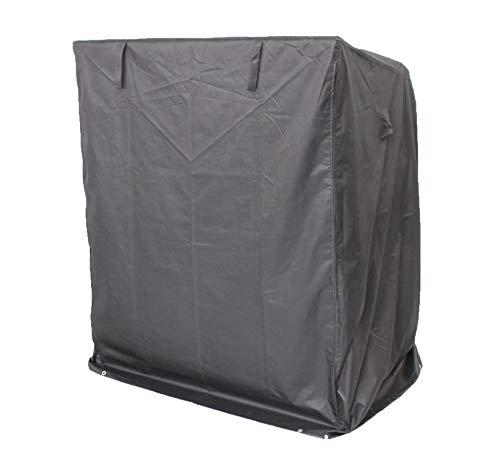 Gardissimo Schutzhülle Strandkorb, Polyester, schwarz, 26 x 34 x 37 cm