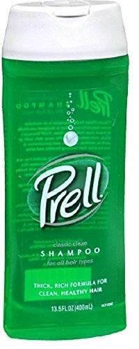Prell Shampoo, Classic Clean 13.50 oz (Pack of 4)