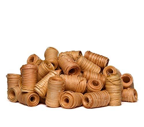 ZARELO Original 10 kg 100% nachhaltige Grill- und Kaminanzünder, Anzündwolle mit Wachs, Grillanzünder Holzwolle, Bio-Anzünder, Feueranzünder, Holzanzünder (Grill-, Kamin- & Ofenanzünder)