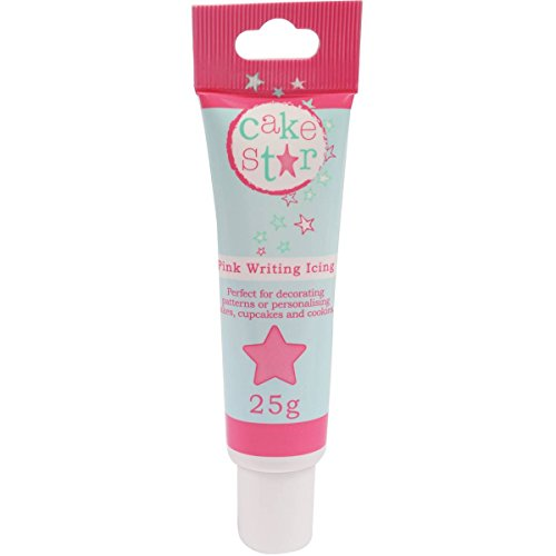 Cake Star Writing Icing - Pink