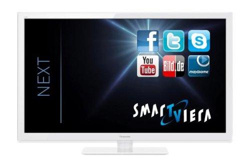 "Televisor Panasonic TX-L42ETW5W Smart Viera - Televisor 3D con retroiluminación LED (42""/107 cm, eficiencia energética A+, full HD, 300Hz BLS, WiFi, DVB-S/T/C), color blanco [Importado de Alemania]"