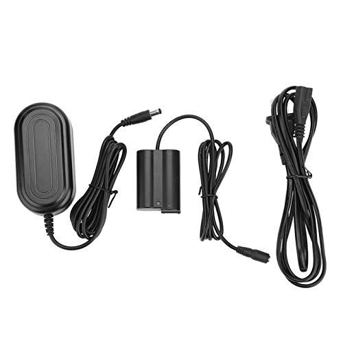 SALUTUYA EN-EL15 Dummy Battery 4.0 * 1.7mm Plug Plug and Use Fully Coded, para Nikon D800 D810 D500 D600 D610 D750(U.S. regulations)