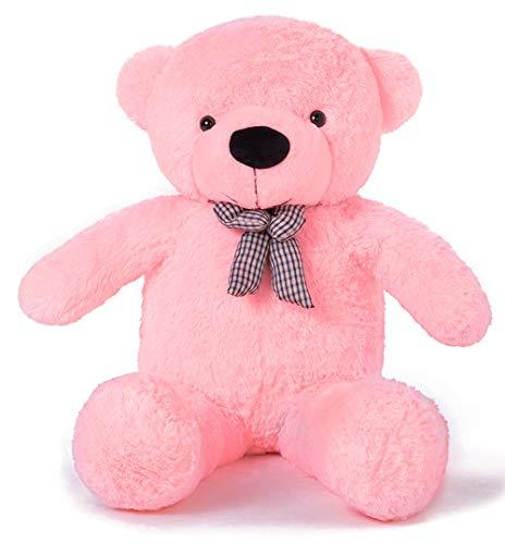 YunNasi Teddybär 120cm XXL Riesen Teddy Stofftier Geschenke für Freundin (120cm, Rosa)
