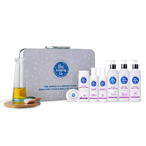 The Moms Co. Everything for Baby with Suitcase Gift Box and 7 Skin and...
