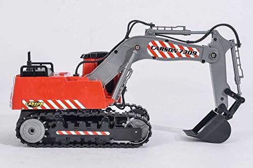 RC Auto kaufen Baufahrzeug Bild 6: Carson Modellsport Raupenbagger 1:26 RC Einsteiger Funktionsmodell Baufahrzeug inkl. Akku, Ladegerä*