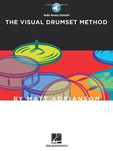 Matt Adrianson: The Visual Drumset Method: Noten, Lehrmaterial, CD für Schlagzeug