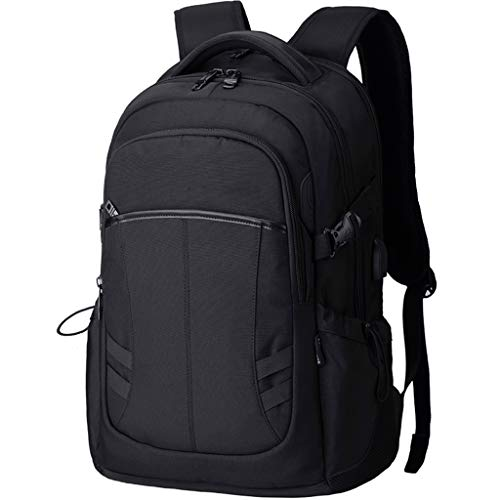 Reisetasche LITING Herren Business Rucksäcke mit großer Kapazität Diebstahlsichere Computertaschen Schwarze wiederaufladbare Brillen können in 16-Zoll-Notebooks einsteigen