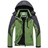 Women's Waterproof Ski Jacket Winter Warm Snow Coat Windproof Mountain Raincoat...
