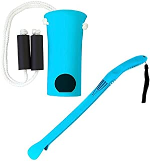 RMS Sock Aid Kit - Sock On Sock Off Device for Putting On and Removing Socks or Compression Stocking for Men and Women with Limited Mobility (Blue)