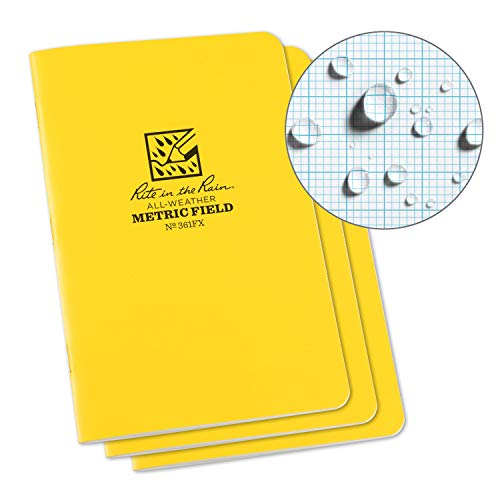 Rite in the Rain cuaderno engrapado impermeable, 4.625