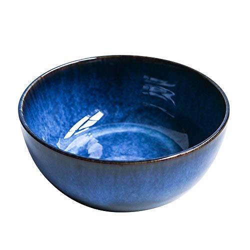 cr/éatif Grand Bol de Nouilles en c/éramique Bol /à Soupe Bassin /à Soupe r/étro Vaisselle m/énage Bol Porcelaine ZXW 9 Pouces Style Japonais Grand Bol Bol /à Salade