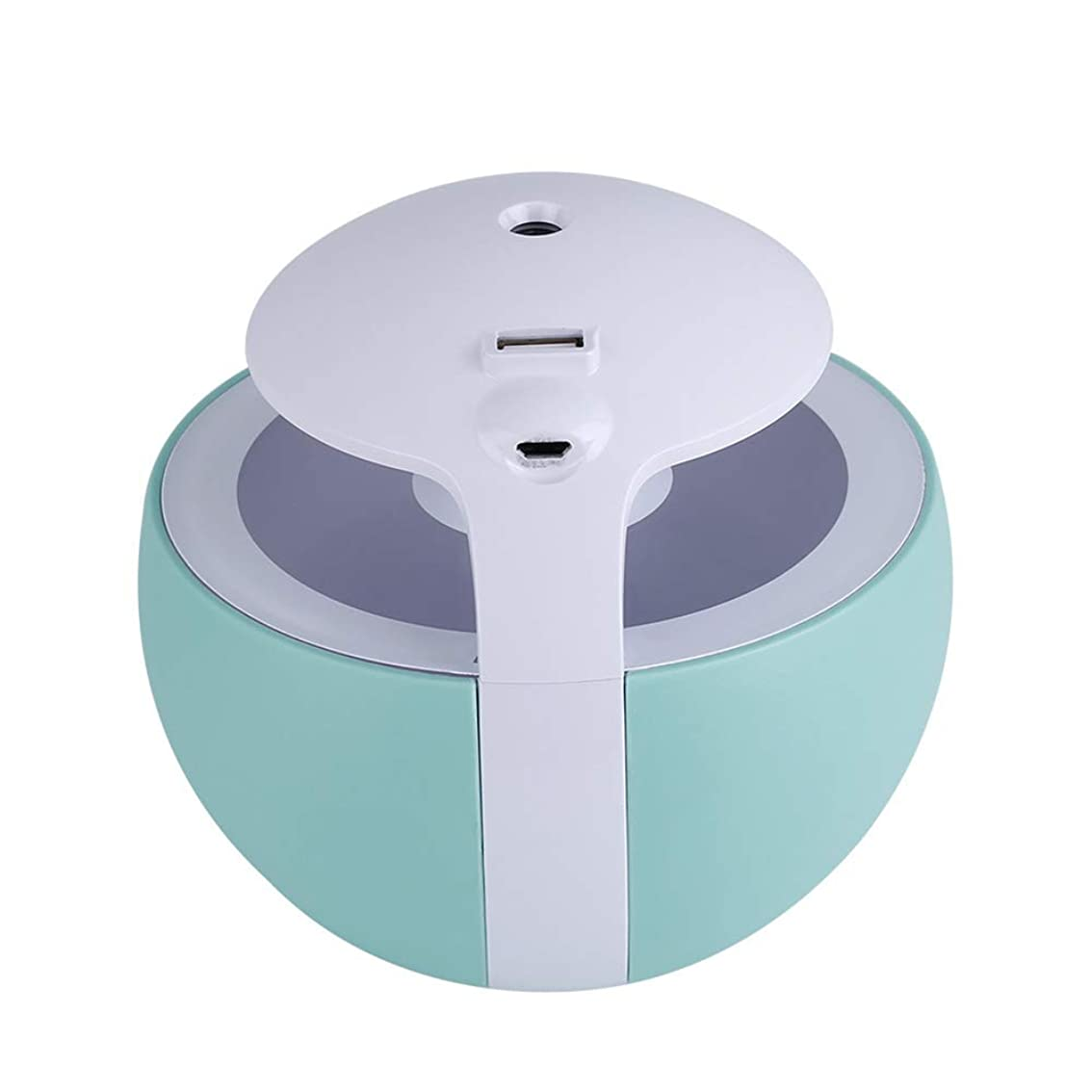女王させるかるナイトエルフ加湿器多機能USB小型ライト小型ファンホームデスクトップエアコンルーム加湿,Blue