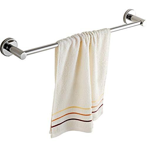 WXQIANG Toallero de baño Free Punch 304 de acero inoxidable toallero, gancho extendido de una sola palanca duradero y protector (tamaño: 123 cm)