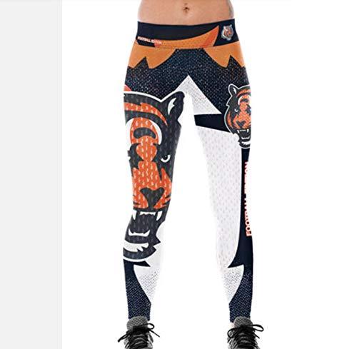 WARHBD Leggings Pantalones De Yoga Con Estampado De Tigre Elástico Mu