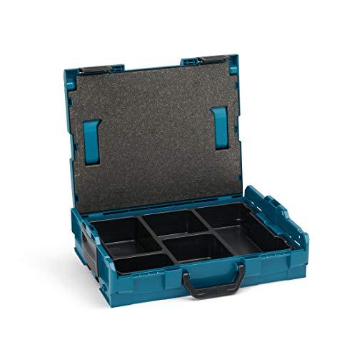 L-BOXX von Bosch Sortimo   L Boxx 102 mit Einsatz 5-fach   Sortimentskasten grün