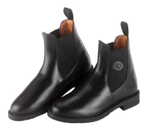 Covalliero 327519 Reitstiefelette, schwarz (black) Leder, Gr. 44