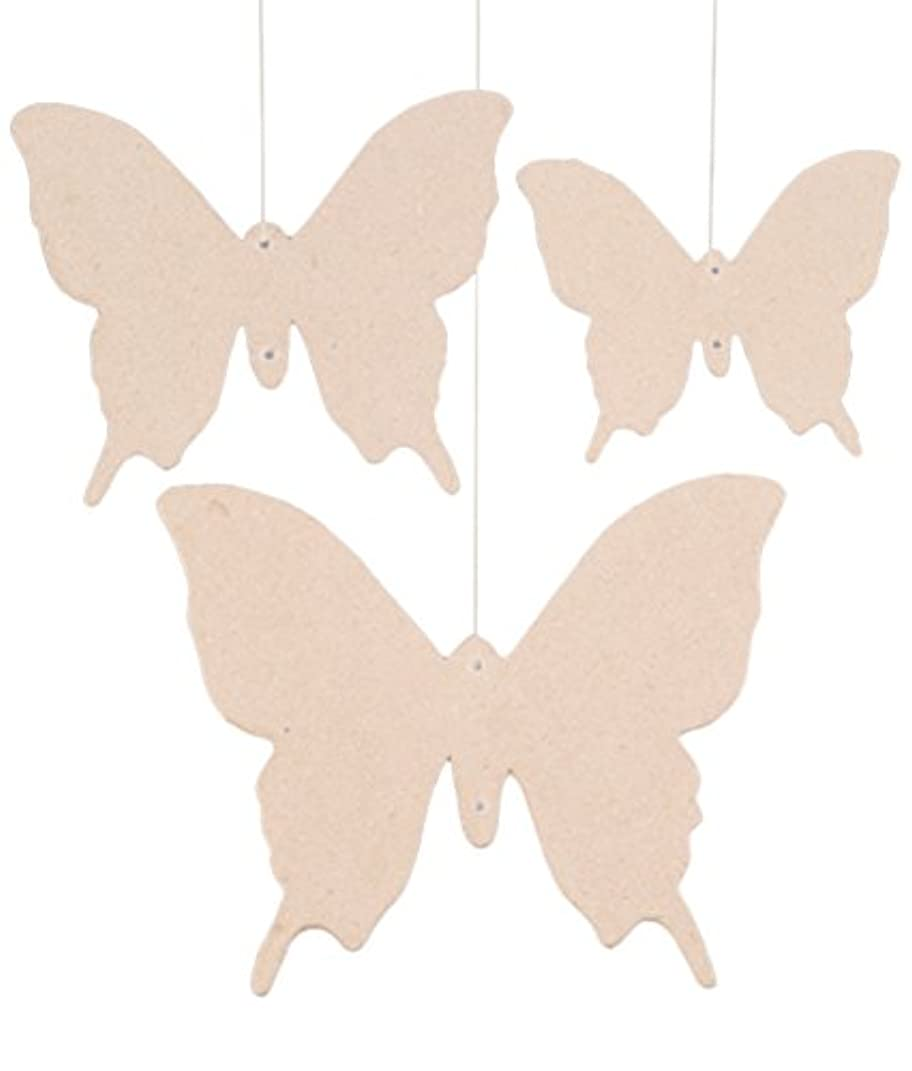 PappArt 3 Papier Mache Butterfly Shapes by PappArt