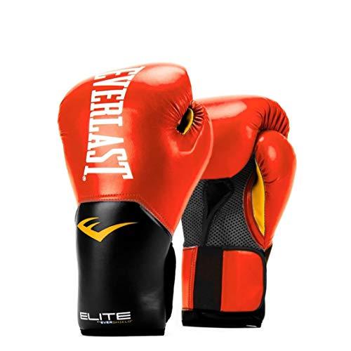 Everlast Elite Pro Style Trainingshandschuhe, Rot, 340 g