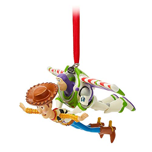 Disney Pixar Buzz and Woody Sketchbook Ornament – Toy Story
