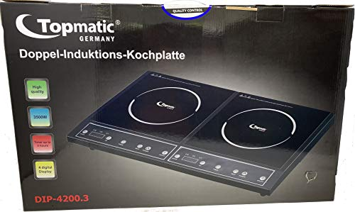 Doppel-Induktions-Kochplatte Topmatic 3500W