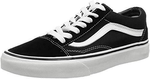 Vans Unisex-Erwachsene Old Skool Vd3hy28 Sneaker, Schwarz (Black/White), 38 EU