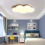 Glamexx24 LED 36W nuages plafonnier, lampes idéal pour salon chambre enfant chambre garçon et fille bébé lampe [classe...