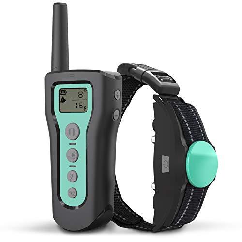 BESTHING Dog Training Collar - Dog Shock Collar 3 Training Modes, Beep, Vibration and Shock, Waterproof, Up to 1000Ft Remote Range, 1~100 Levels Dog Training Set