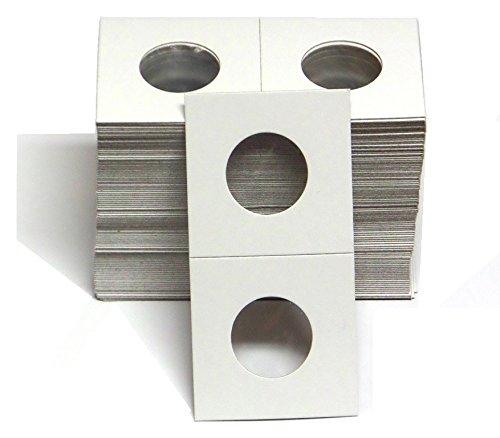 1-100 Pack of 2×2 Quarter Coin Cardboard Holder –