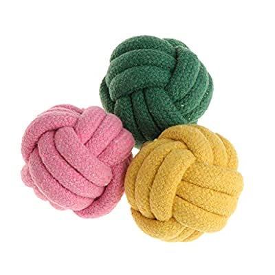 Noband Pet Toys Rope Ball Knitted Bite Chew Teeth Cleaning Dogs Cats Puppy Interactive JSFGFSDH