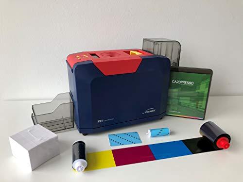 PVC Plastikkartendrucker Starter Set SEAORY S21 Simplex