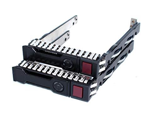 Lot of 2pcs 2.5' SFF SAS SATA SSD Hard Drive Carrier Tray Caddy...