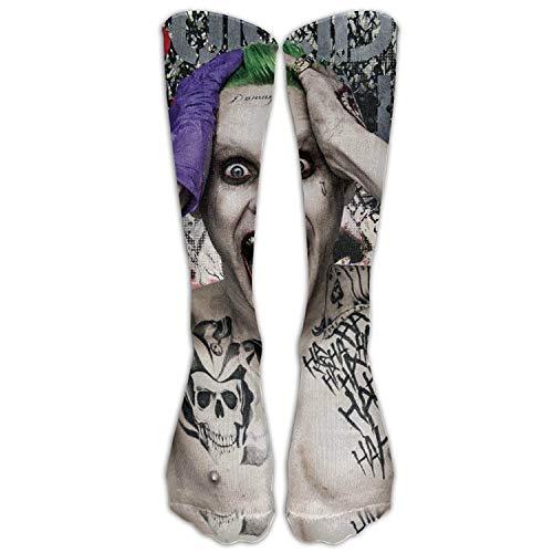 HNJZ-GS The Joker Suicide Squad Movie Logo Calzini Donna Calzini Casual Carino Unisex