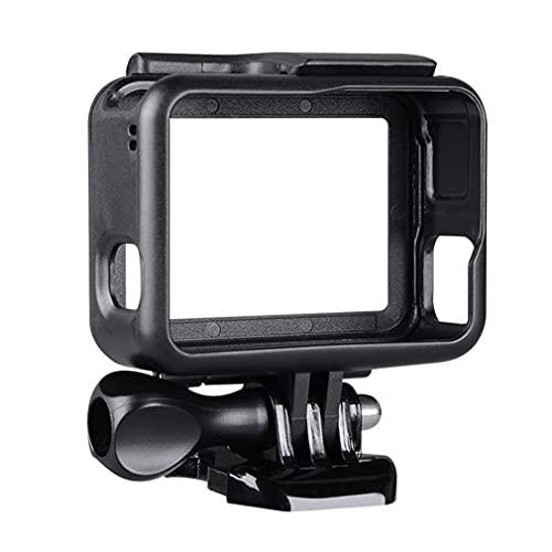 Carcasa Protectora para videocámara con Marco para cámara de acción GoPro Hero 7 6 5 Negro 78 * 67 * 27 mm