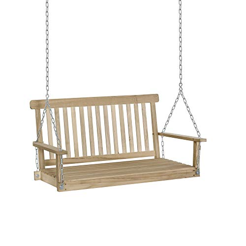 Outsunny 2 Seater Outdoor Porch Swing Chair Seat...