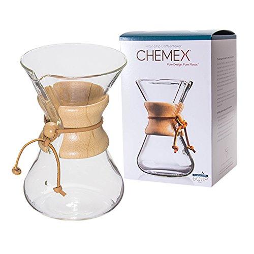 Chemex [ ケメックス ] コーヒーメーカー ハンドメイド 6カップ用 ドリップ式 CM-2 ハンドブロウ 新生活 [並行輸入品]