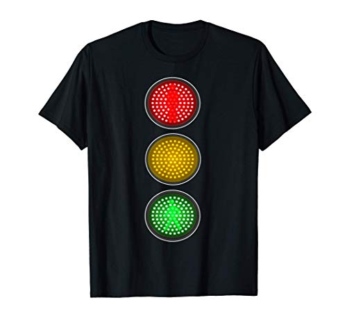 Semforo Idea de disfraces de fiesta grupal de Halloween Camiseta