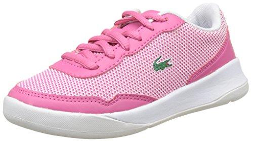 Lacoste LT Spirit 117 2 Spc, Zapatos Unisex Niños, Multicolor (Pnk/Wht), 28...