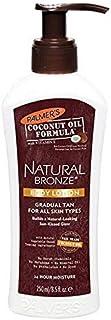 [Palmer's ] パーマーのココナッツオイルの自然青銅ボディローション250ミリリットル - Palmer's Coconut Oil Natural Bronze Body Lotion 250ml [並行輸入品]