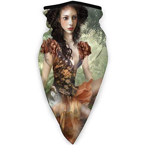 Faithe Keppel Tree Nymph Garden Femmes Cache-cou épais en molleton, chapeau de masque protecteur d'hiver coupe-vent pour la course Guêtre de cou de bandeau