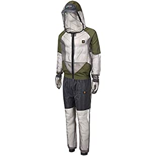 Outdoor Anti Mosquito Net Repellent Clothing, Mosquito Jacket Trousers Suit, Repellent Clothing Coat Pants Outfit perfect for Outdoor Adventure Camping Fishing:Whiteox