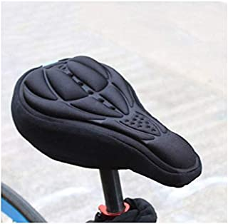 Bicycle accessories 3D seat cover riding equipment accessories mountain bike cushion cover thick silicone cushion cover