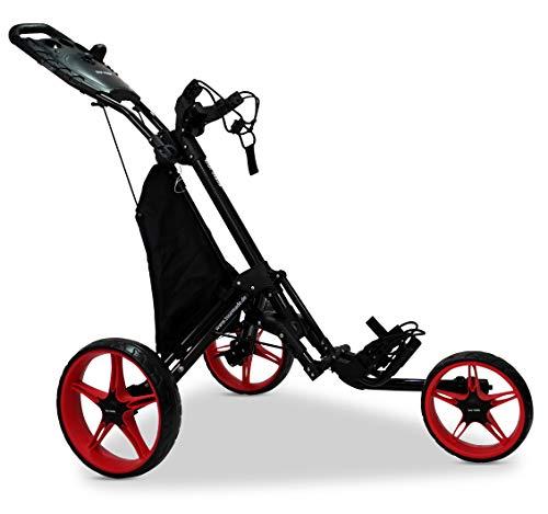 tour-made-RT-140-V2-Chariot-de-golf–3-roues-pour-3-roues-noirrouge