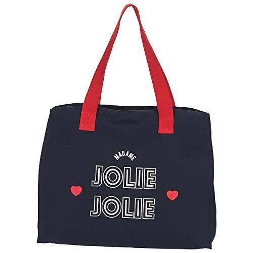 Petite Mendigote Jolie Tote Bag/Borsa Shopping Donne Marine - Unica - Tote Bag/Borsa Shopping Bag
