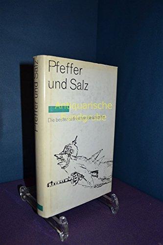 Pfeffer und Salz. Eine Auswahl der besten satirischen Geschichten. Ill von Joachim Braatz
