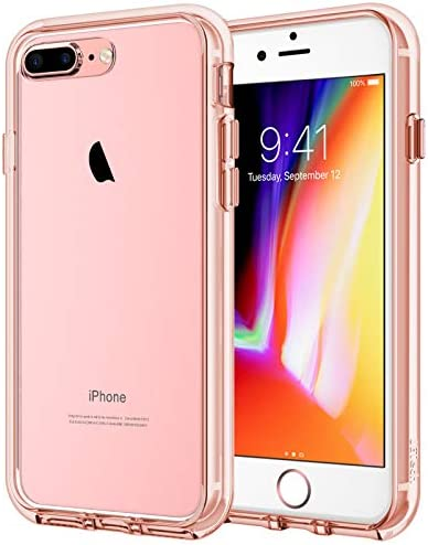 JETech Case for iPhone 8 Plus and iPhone 7 Plus, Shock-Absorption Bumper Cover, HD Clear